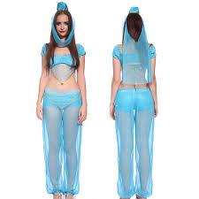 jasmine halloween costume for kids women ladies girls arabian dancer aladdin princess halloween