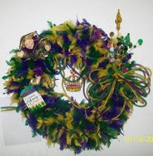 mardi gras door decorations mardi gras wreath ebay