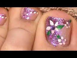 Migi Nail Art Design Ideas Purple Toe Nailart Stones Nail Designs And Arts Pinterest 35