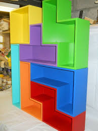 diy tetris shelves u2014 instructables shelves game rooms and gaming