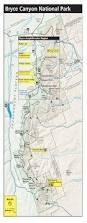 Utah National Parks Map by Ut Bryce Canyon Elena Hanajenko