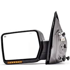 Old Ford Truck Mirrors - amazon com dedc left driver side power heated turn signal lights