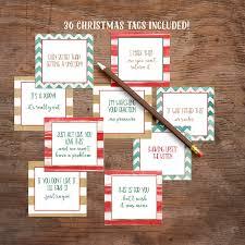 christmas tags printable funny christmas gift tags white