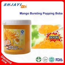 Mango Boom taiwan selling tea mango flavor bursting