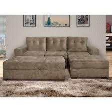 Sofas Com Chaise E Puff Sofa Hpricotcom - Puff sofa 2
