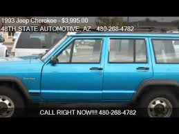 1993 jeep for sale 1993 jeep 4 door 2wd for sale in mesa az 85203