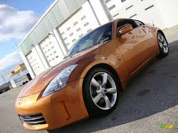 Nissan 350z Orange - 2006 le mans sunset metallic nissan 350z touring coupe 41057277