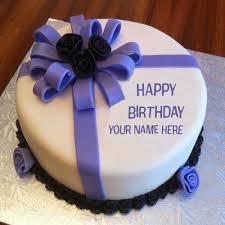 write nick happy birthday cakes