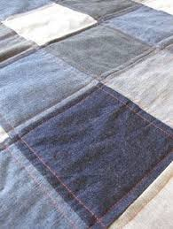 diy rug with old denims upcycle nice and craft