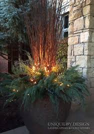 Christmas Decorations For Outdoor Containers by 40 Festive Outdoor Christmas Decorations Outdoor Christmas