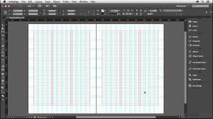 grid layout for 8 5 x 11 indesign tutorial setting up your baseline grid lynda com youtube