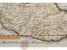 Old Mexico Map by Carte Du Mexique Old Map Central Mexico Bellin M U0026m
