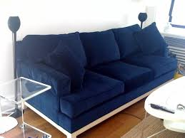 blue sofa bed another similar option for a navy blue velvet sofa is the room