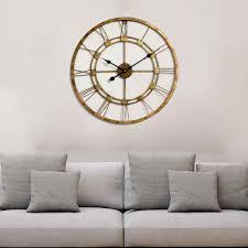 mirror distressed walmartcom better gold living room wall clocks