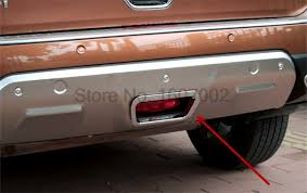 nissan rogue warning lights for nissan rogue x trail 2014 2015 abs chrome rear warning brake