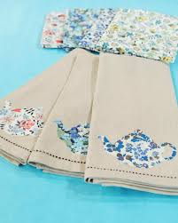 Kitchen Towel Craft Ideas Teapot Applique Tea Towels U0026 Video Martha Stewart