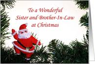 christmas cards for sister u0026 brother in law from greeting card