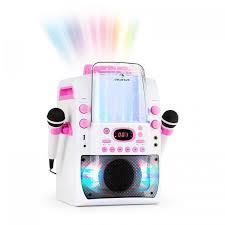 imagenes en blanco y rosa kara liquida bt equipo de karaoke espectáculo de luces chorro de