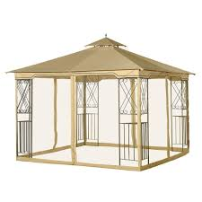Grill Gazebos Home Depot by Sunjoy Ft X Soft Top Grill Gazebo The Home Inspirational Gazebo