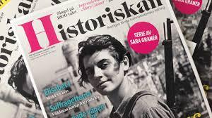 Women Magazine Historiskan U2013 Sweden U0027s First Women U0027s History Magazine By Eva Bonde