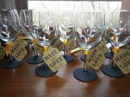 cool glassware best 25 wine glass favors ideas on pinterest diy wine glasses