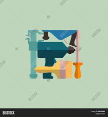 logo construction tools carpentry vector u0026 photo bigstock