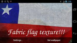 Chilian Flag 3d Chile Flag Live Wallpaper Android Apps On Google Play