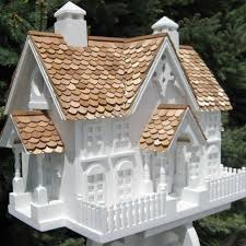 decorative wrension bird house yard envy
