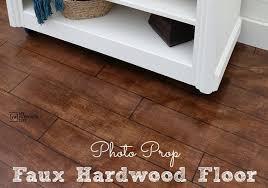 hardwood floor photo prop my repurposed