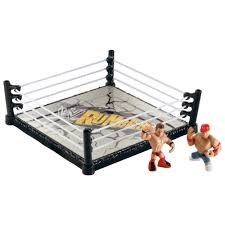 Wrestling Ring Bed by World Wresting Wwe Rumblers Ring John Cena The Miz Figures