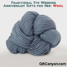 traditional anniversary gifts traditional 7th wedding anniversary gifts for wool gift