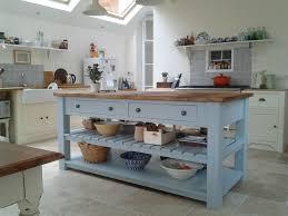 freestanding kitchen island unit rustic painted 4 drawer kitchen island unit freestanding kitchen