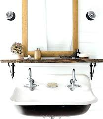 trough bathroom sink wall mounted trough sinks for bathrooms