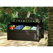 suncast patio storage outdoor patio bench deck box storage seat
