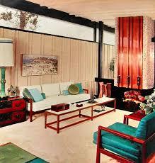 Best Mid Century Living Room Images On Pinterest Vintage - Modern and vintage interior design