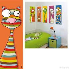 toile chambre enfant tableau déco pour chambre enfant et bébé tableau rigolo et