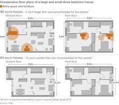 Three Bedroom Ground Floor Plan Shoebox Homes U0027 Become The Uk Norm Bbc News