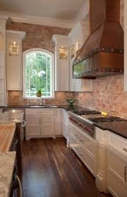 kitchen brick backsplash gray kitchen gray kitchen cabinet with brick backsplash wall and