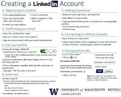 Adding Volunteer Work To Resume Linkedin Networking Job Search Tools Career Services Uw
