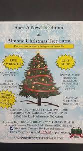 almond christmas tree farm home facebook
