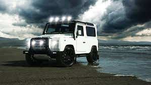 white land rover defender the alpine edition land rover defender by twisted unfinished man