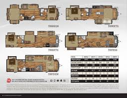 destination trailer floor plans 2016 keystone rv retreat brochure rv literature