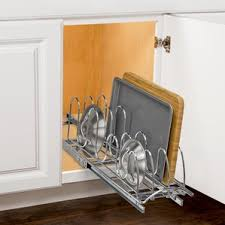 Cabinet Door Pot Lid Organizer Cabinet Organizers You U0027ll Love Wayfair