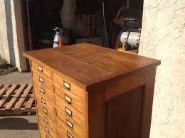 Multi Drawer Wooden Cabinet Antique Oak Multi Drawer Document Cabinet Obnoxious Antiques