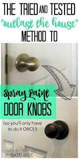 Best Way To Paint Cabinet Doors by Best 25 Painting Hardware Ideas On Pinterest Paint Door Knobs