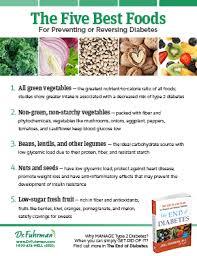 5 best foods for diabetes drfuhrman com