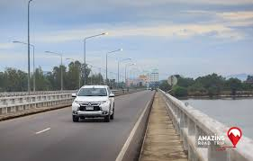 mitsubishi thailand mitsubishi all new pajero sport cross the longest concrete bridge