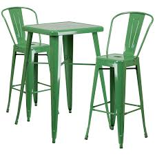 green metal outdoor table flash furniture ch 31330b 2 30gb 23 75 square metal indoor