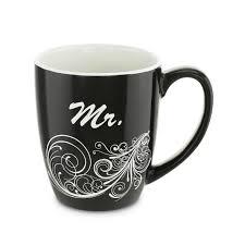 mr and mrs coffee mug set kovot