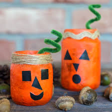 halloween mason jar crafts how to make jack o u0027lantern nightlight jars